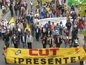 Denuncian amenazas de 'Los Rastrojos' a sindicalistas en el Valle