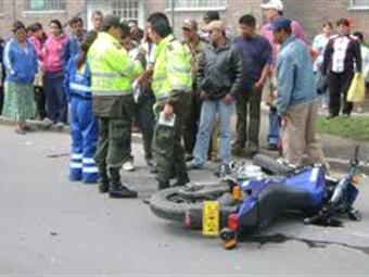 Muere hombre en accidente de moto por esquivar a un ciclista en Atlántico