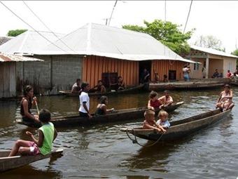 Las inundaciones volvieron a la región de La Mojana