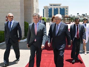 Láncense al agua, le dijo Santos a Israel y Palestina sobre paz en Oriente Medio