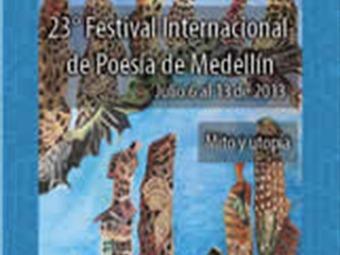 El sábado se iniciará el Festival Internacional de Poesía en Medellín