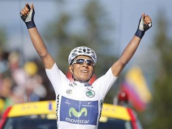¡Histórico: Nairo Quintana gana etapa y es segundo en el Tour de Francia!