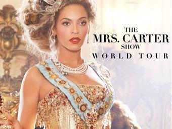 Beyoncé llega a Colombia con La W y The Mrs. Carter Show World Tour