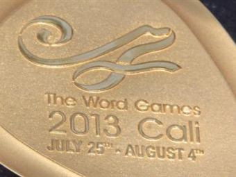 """Las medallas que se entregan en Cali dicen """"Word"""" y no """"World Games"""""""