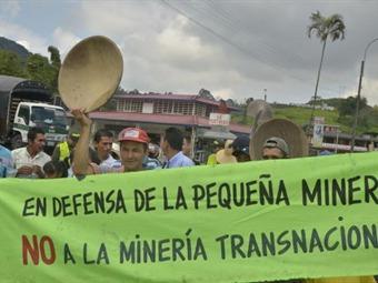 Mesa de los mineros: aún no se logran avances