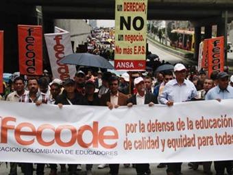 Paro de Fecode podría ser levantado si el Gobierno se compromete, dicen maestros