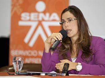 Directora del Sena destaca las cifras de desempleo