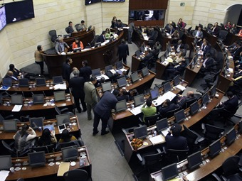 Cuánto gana hoy un congresista en Colombia