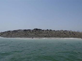 Una isla emerge a 200 metros de la costa tras terremoto en Pakistán