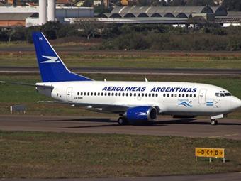 """Quejas por incumplimiento de vuelos de """"Aerolíneas Argentinas"""""""