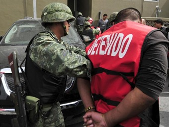 Detienen delincuentes vinculados en secuestro de colombiano en México