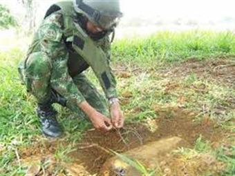 Soldado muere por activación de mina de las Farc en Apartadó