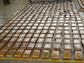 Colombia y EE.UU. decomisan tonelada y media de cocaína en el Caribe