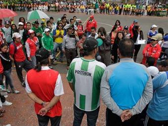 Alcaldía de Soacha busca acabar con la violencia entre barristas