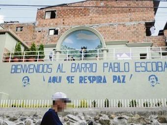 Barrio Pablo Escobar, memoria y gratitud