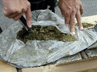 Dos toneladas de marihuana incauta la Policía en Cúcuta