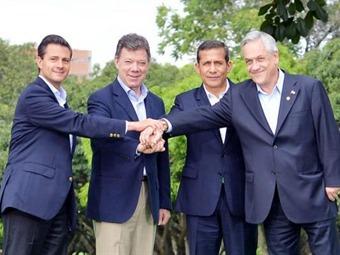 Presidentes de la Alianza del Pacífico se reunirán en Cartagena en febrero