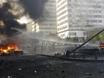 Exprimer ministro libanés acusa a Hizbulá por el atentado en Beirut