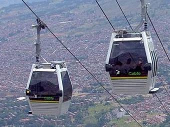 Entre Manizales y Villamaría entra en funcionamiento sistema de cable aéreo