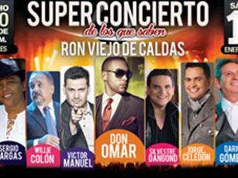 Feria de Manizales cierra con concierto con nueve importantes artistas