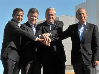 Cartagena acoge cinco presidentes en la Alianza del Pacifico