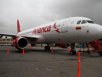 Ingresos de Avianca aumentaron 8 % en 2013