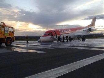 Fokker 100 de Avianca aterriza de emergencia en Brasil