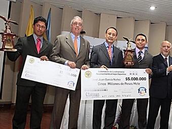 Cundinamarca premia al billar como el deporte de 2013