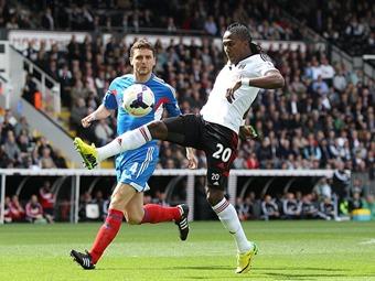 Rodallega y Fulham descienden en Inglaterra