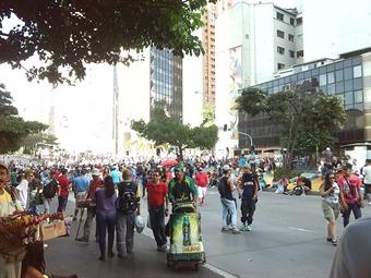 En Medellín marchan a favor de la marihuana