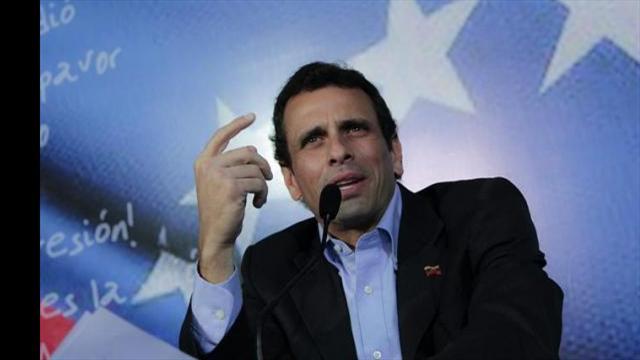 Capriles espera que haya paz en Colombia y se fortalezca la democracia