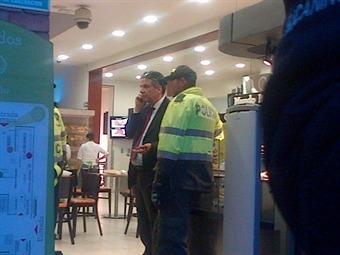 Capturado Francisco Javier Arango mientras pagaba en caja de supermercado