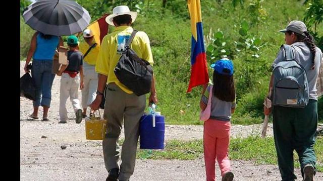 Este lunes  se cumplen 10 años de sentencia en favor de desplazados