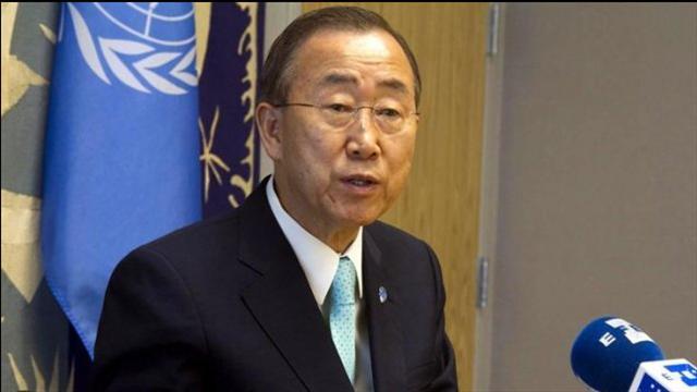 Ban Ki-moon advierte consecuencias por desplazamiento de israelíes en Gaza