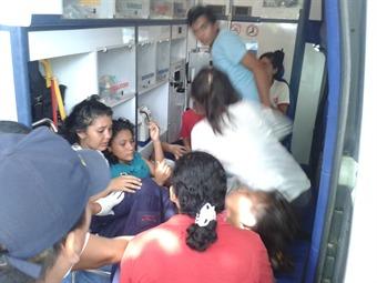 Más de 70 menores intoxicados tras explosión en colegio de Santa Marta
