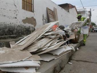 Aumenta la recolección de inservibles  por presencia del Chikunguña