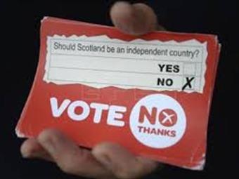 """El """"no"""" a la independencia gana el referéndum, según la BBC"""