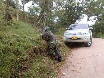 Frustran atentado de las Farc contra personero de Suaza, Huila