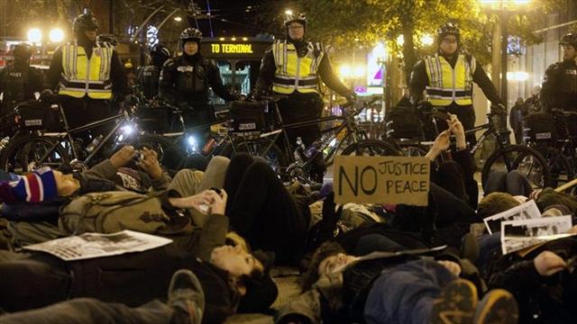 Protestas en EE.UU. por exoneración a policía que mató a Eric Garner