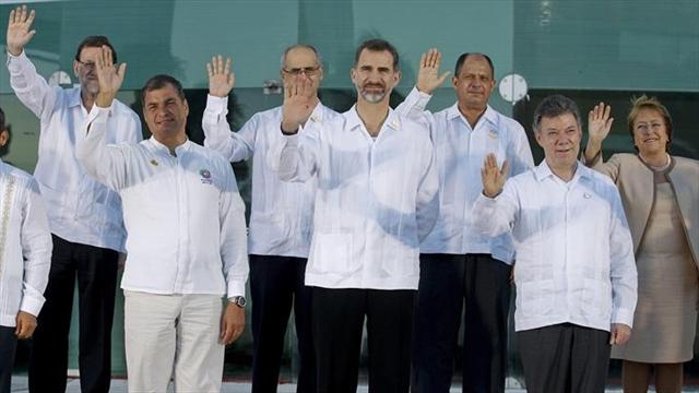 La primera jornada de la cumbre de Veracruz concluye con una cena