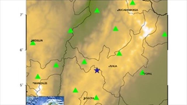 Fuerte temblor se sintió en el centro de Colombia
