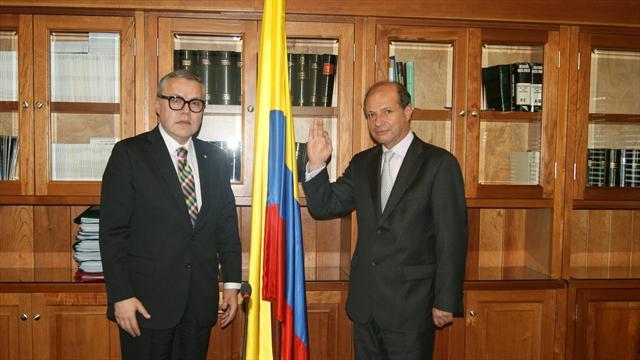 Néstor Osuna y José Suarez, presidentes de las salas de la Judicatura
