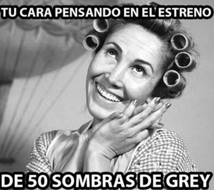 En memes las redes sociales se mueven con el estreno de - 50 sombras de grey en espana ...