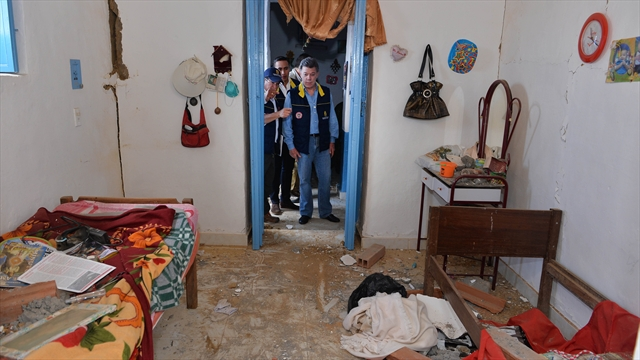 Santos declara calamidad pública por el temblor, en Betulia, Santander