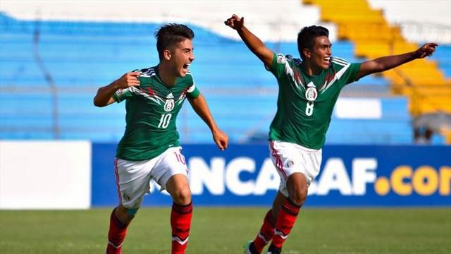 México, segundo clasificado directo al Mundial Sub 17 de Chile