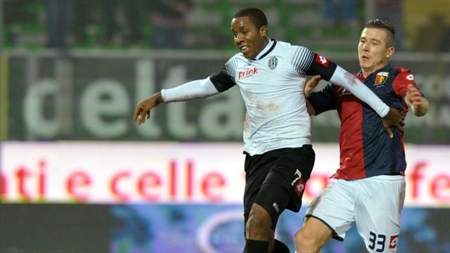 Carbonero anota su primer gol con Cesena, que rescató empate ante Verona