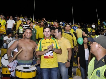 Presentan plan de emergencia y seguridad de estadio de fútbol de Cartagena