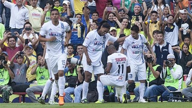 Ronaldinho da el empate a Querétaro ante Veracruz y lo pone en semifinales