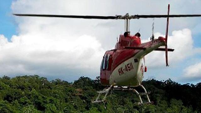 Encuentran helicóptero que había sido robado en el Valle