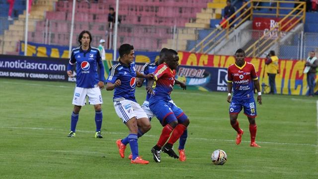 Millonarios debuta en la Liga con un empate sin goles ante el Pasto